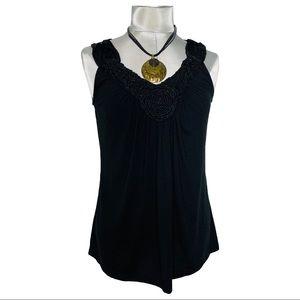 DRESS BARN sleeveless blouse